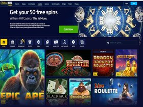 Play in Pounds at William Hill Casino